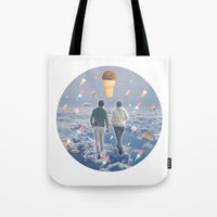 Bill & Nick's Ice Cream Adventure! Tote Bag