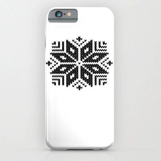 knit flake iPhone & iPod Case
