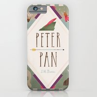 iPhone & iPod Case featuring Peter Pan by emilydove