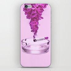 Pink Smoke iPhone & iPod Skin