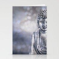 buddha Stationery Cards featuring Buddha by LebensART Photography