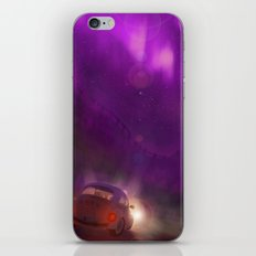 the pink and violet iPhone & iPod Skin