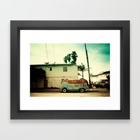 Rusty Van Framed Art Print