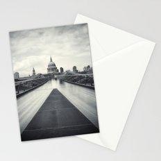 Millennium Bridge Ghosts, London Stationery Cards