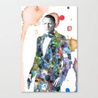 Bond, James Bond Canvas Print