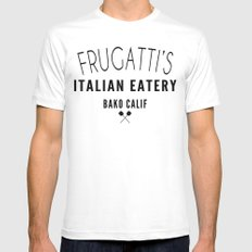 FRUGATTI'S CALIF Mens Fitted Tee White SMALL