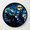 Starry Knight iPhone 4 4s 5 5c 6, pillow case, mugs and tshirt Wall Clock
