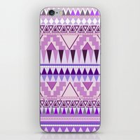 Aztec; Purple Dreams iPhone & iPod Skin