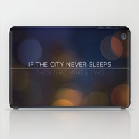 No Sleep iPad Case