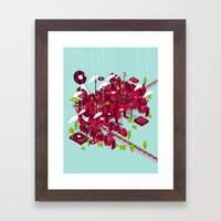Sound City Framed Art Print