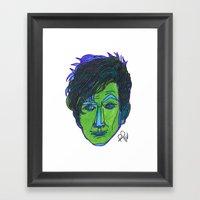 Doctor 11 & 12 Framed Art Print