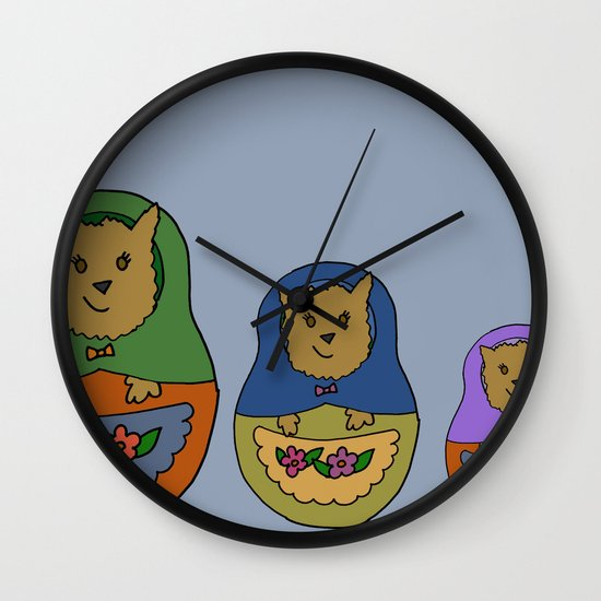 Piptroyshkas Wall Clock