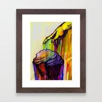 anointed cake Framed Art Print