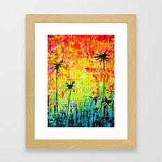 Cali Palms Framed Art Print