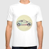 Meager Beginnings Mens Fitted Tee White SMALL