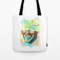 Smiley Eye Tote Bag
