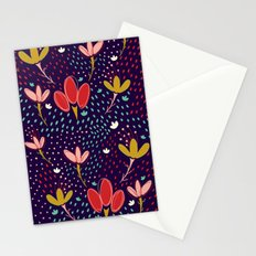 Vintage Ditsy Floral Stationery Cards