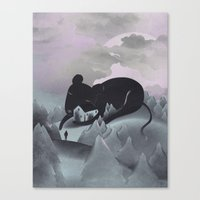 I Will Never Leave You Canvas Print