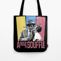 A Bout de Souffle Tote Bag