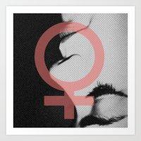 Praise To Femininity  Art Print