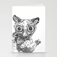 Bush Baby Stationery Cards