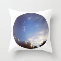 Telescope 1 sky planet Throw Pillow