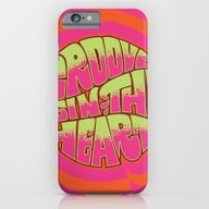 iPhone & iPod Case featuring Groove Is In The Heart by Roberlan Borges