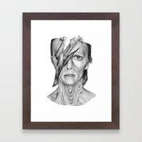 Wood dB Framed Art Print