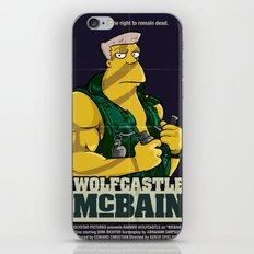 McBain iPhone & iPod Skin