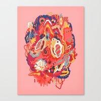 Head (Alternate) Canvas Print