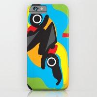 Black-browed Barbet iPhone 6 Slim Case