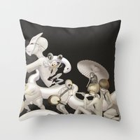 Matsuri (Festival) Throw Pillow