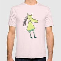 Gallifant Mens Fitted Tee Light Pink SMALL