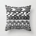 Tribal Tuesday Throw Pillow