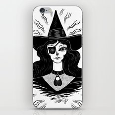 Spirit Dimension Witch iPhone & iPod Skin