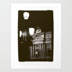 Paris Opera Art Print