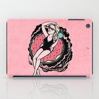 Floating Girl II iPad Case