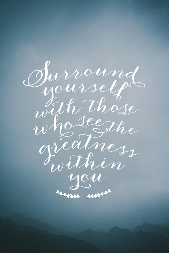 Surround yourself with... Art Print