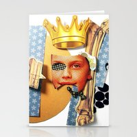 Skin Deep | Collage Stationery Cards