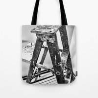 Painter's Ladder Tote Bag