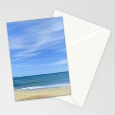Blue sea...., blue sky. Sea dreams Stationery Cards