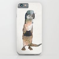 iPhone Cases featuring Otter by David Fleck