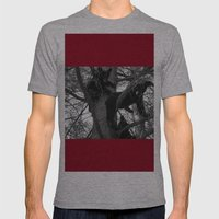 Berry Beary Mens Fitted Tee Athletic Grey SMALL