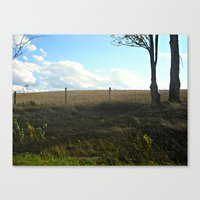 Distant Fields Are Always Greener Canvas Print