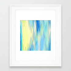 Re-Created Vertices No. … Framed Art Print