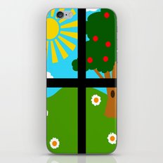 Out The Window iPhone & iPod Skin