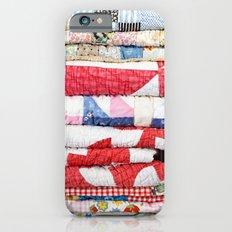 Vintage Quilts iPhone 6 Slim Case
