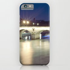 Bridges of Paris by Night iPhone 6 Slim Case