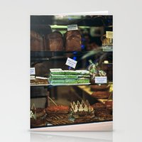 French Bakery  Stationery Cards
