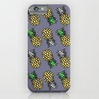 PINEAPPLE black iPhone 6 Slim Case